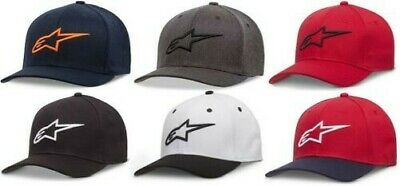Alpinestars 2019 Mens Ageless Curved Hat All Colors and Sizes