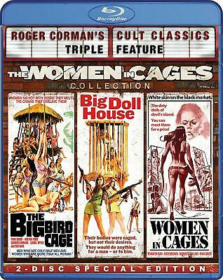 Roger Corman's Cult Triple Feature The Women In Cages Collection Blu-Ray