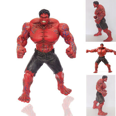 "10"" Marvel Legends The Avengers Incredible Hulk Red Hulk Loose Action Figure"