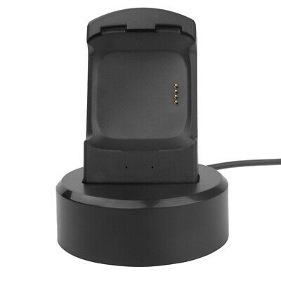 Portable USB Charging Power Dock Cradle Stand For Fitbit Versa Smartwatch