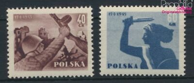 Poland 897-898 (complete issue) unmounted mint / never hinged 1955 Lib (9287092