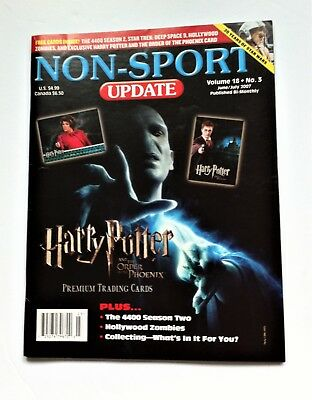 Non-sport Trading Cards Price Guides & Publications Non Sports Update Volume 18 No 1 February/ March 007 Stargate Sg-1