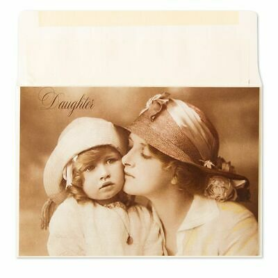 Papyrus Happy Birthday Card Vintage Mother Daughter Birthday Card