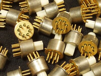 20 Pieces: Miniature 7-Position Rotary Selector Switch DIY Arduino NOS Gold