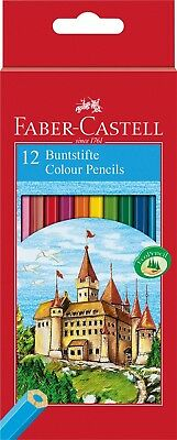 Faber Castell Hexagonal Colouring Pencils in boxes of 12 or 24 Classic Pencils