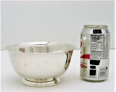 Lunt Sterling Silver Bowl Paul Revere Reproduction circa 1768