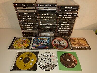 Playstation 1 Spiele PSOne (Worms, Spyro Tomb Raider, Driver, Fifa, GTA,...)