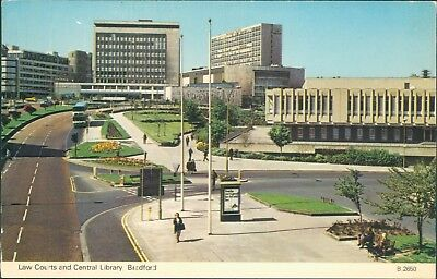 Bradford law courts and central library