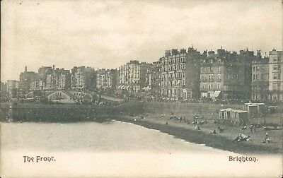 Brighton the front; 1906;Mezzotint