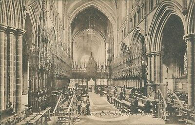 Chester cathedral; choir west firths