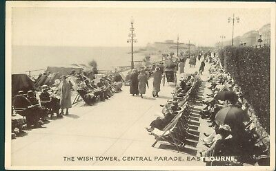 Eastbourne central parade, the wish tower