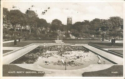 Folkestone; kings north garden 1947