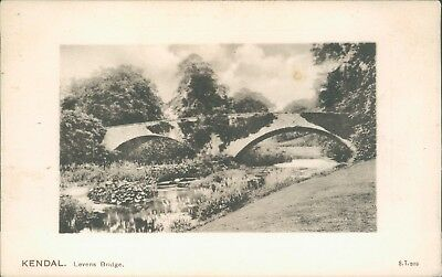 Kendal levens bridge; Peacock 1919