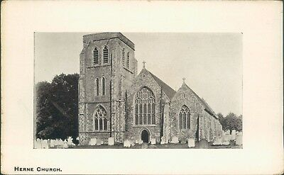 Herne church; J H Whitchurch