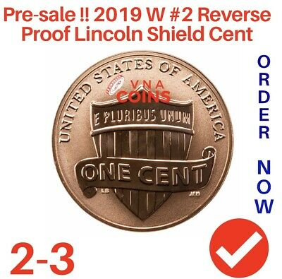 2019 West Point #. 2 reverse  Proof Lincoln cent penny  Point Struck PRE-SALE