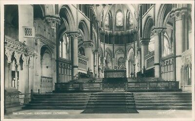 real photo Canterbury the sanctuary walter scott