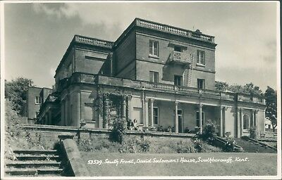real photo Southborough; david Solomons house south front
