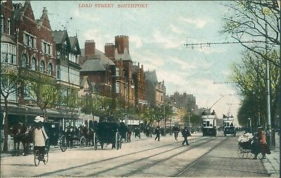 Southport; Lord street; 1905 shaw