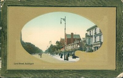 Southport; Lord street Valentine 1909