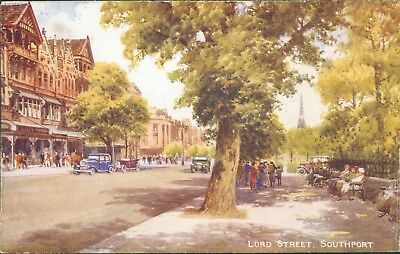 Southport; Lord street valentine art colour A 66