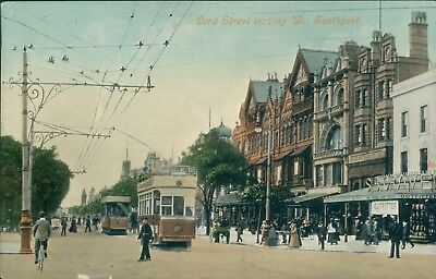 Southport; Lord street valentine's 1908