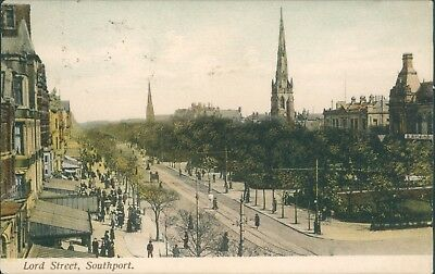 Southport; Lord street 1906