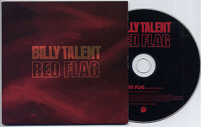 BILLY TALENT Red Flag 2006 Euro 1-trk promo CD PRO15996