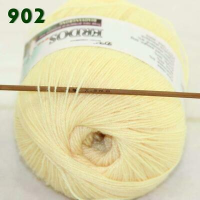 Sale 1 Ball x 50gr LACE Soft Acrylic Wool Cashmere Shawl Hand Knitting Yarn 02