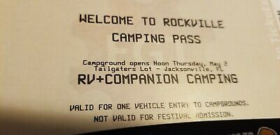 Rockville RV and Companion camping pass
