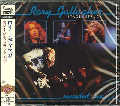 RORY GALLAGHER Stage Struck 2018 Japanese 11-trk promo sample SHM-CD sealed