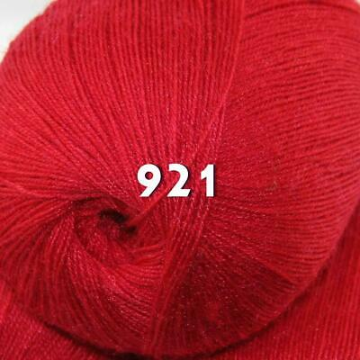 Sale 1 Skein x50g LACE Soft Acrylic Wool Cashmere hand knit Crochet Wrap Yarn 21