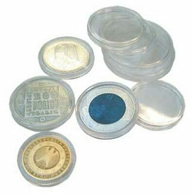 SAFE 6716 coin cans / coin capsules 5-pack 16 mm