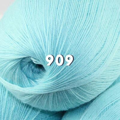 Sale 1 Skein x50g LACE Soft Acrylic Wool Cashmere hand knit Crochet Wrap Yarn 09