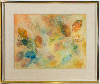 Suzanne Hayward-Young - Signed & Framed Mid 20th Century Gouache, Autumn