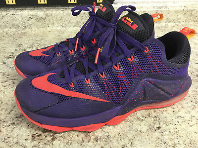 check out 55ea6 a786a Mens Nike Lebron 12 XII Low Sz 12 (724557-565) Court Purple