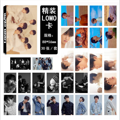 30pcs/set KPOP BTS LOVE YOURSELF 轉 Tear Bangtan Boys Postcard Lomo Cards Good