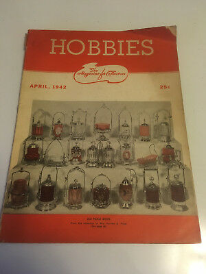 Hobbies 1942 Oriental, Coins,Stamps Pickle dishes Button  Lanterns Coney island