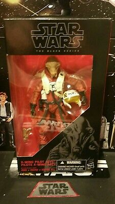 Hasbro Star Wars The Black Series 6-Inch X-Wing Pilot Asty