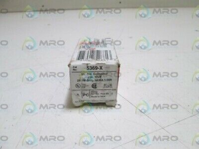 Pass & Seymour Plug Connector 5369-X *New In Box*