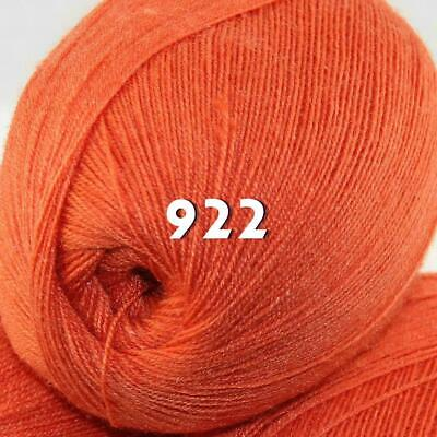 Sale 1 Skein x50g LACE Soft Acrylic Wool Cashmere hand knit Crochet Wrap Yarn 22