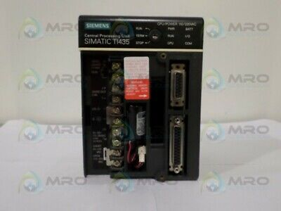 Siemens Simatic Ti435-Cpu Central Processing Unit *New No Box*