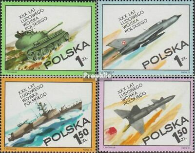 Poland 2275-2278 fine used / cancelled 1973 Polish People's Army