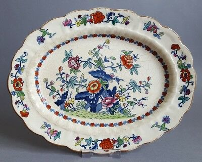 Booths Silicon China The Pompadour Small Serving Dish Plate Platter Charger  :C5