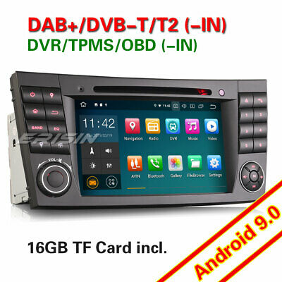 Android 9 0 Dab Mercedes Benz Classe E Cls G W211 Gps Cd Wifi Usb