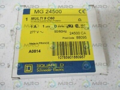 Square D Mg24500 Circuit Breaker * New In Box *