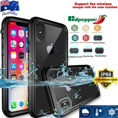 For Apple iPhoneX XS Max/XR 8 7Plus 8 7 Waterproof Shockproof Durable Cover Case