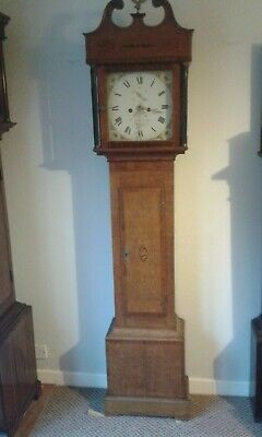 8 day Grandfather / Longcase clock,R Summerhayes, Ilminster,Somerset, C1820