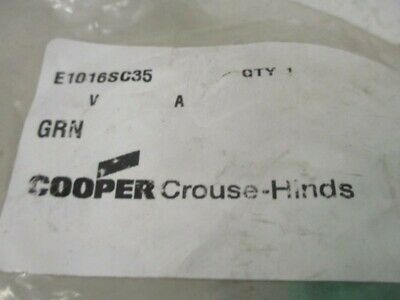 Crouse-Hinds E1016Sc35 Receptacle Cover Snapback * New In Factory Bag *