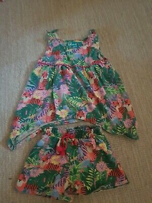 Girls Top And Short Set Age 3-4