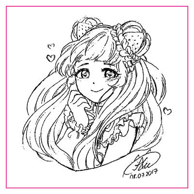 10*10cm Pretty Girl Clear Stamps for DIY Scrapbooking Stempels Silicone Stamp